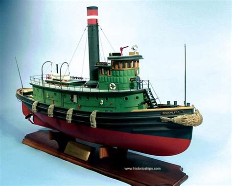 Tugboat Kit by Dumas Tugboat Kit 1238 Rc Capable Kits