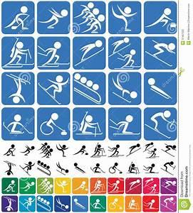 Winter Sports Symbols Editorial Photography - Image: 37487222