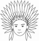 Coloring Indian Pages Indians Printable Thanksgiving Preschool Headdress Native American Clipart Theme India Sheets Longhouse Children Northside Books Popular Kindergarten sketch template