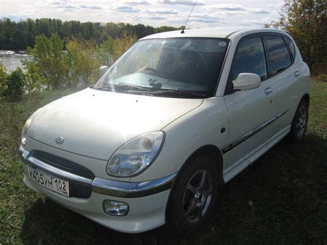 Sirion Hd Picture by 2000 Daihatsu Storia Pictures 1300cc Gasoline Ff