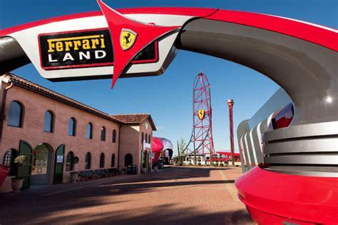 ferrari land portaventura thrills spills  automobiles