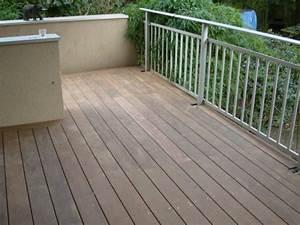 refaire un escalier en lames de terrasses bois With recouvrir une terrasse carrelee