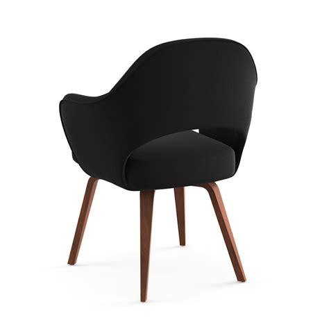saarinen executive arm chair wood legs modern