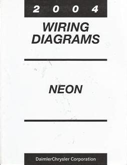 Chrysler Dodge Plymouth Neon Srt Wiring Diagrams