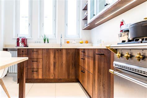 cuisine ch麩e massif cuisine chene clair contemporaine cuisine mod le 1261 xl ch ne castel clair id e de