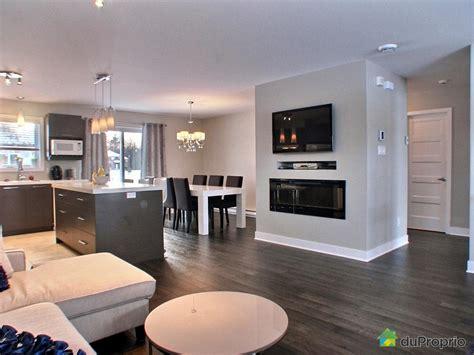 cuisine aire ouverte davaus decoration cuisine salon aire ouverte avec des idées intéressantes pour la