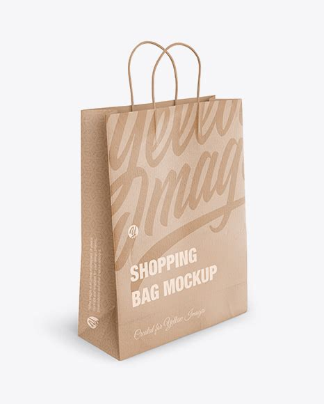 In this adobe photoshop file you can create your own fully customizable packaging project where you can display your own brand. Download Matte Paper Bag Mockup Half Side View ...