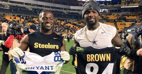 Antonio Brown Makes Pitch For Dez Bryant To Join Steelers