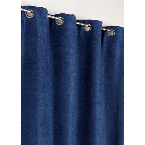 rideau occultant thermique alaska bleu roi l 140 x h