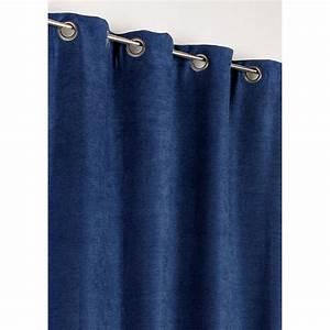 Rideau Occultant Thermique : rideau occultant thermique alaska bleu roi x h ~ Premium-room.com Idées de Décoration