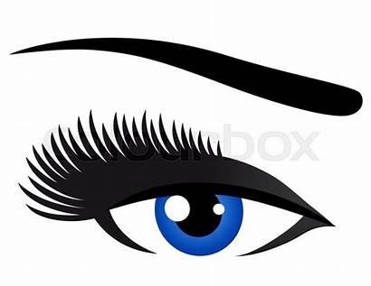 Eyelashes Eye Cils Oeil Wimpern Occhio Blu
