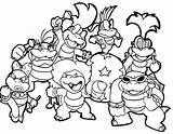 Mario Coloring Pages Bros Characters Printable Super Kart Getcolorings Getdrawings Whitesbelfast sketch template