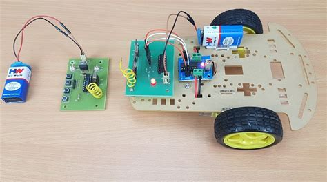 rf controlled robot  microcontroller