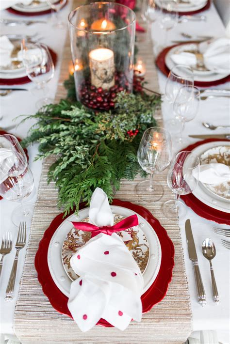 elegant christmas tablescape setting  perfect
