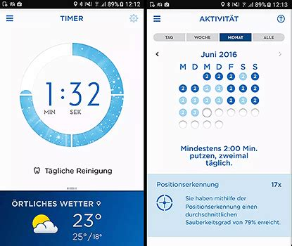 Smartphone Apps Zum Putzen by Elektrische Zahnb 252 Rste F 252 R Paare B Pro 8900 Im Test