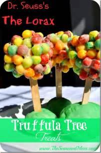 The Lorax Truffula Trees Dr. Seuss Snacks