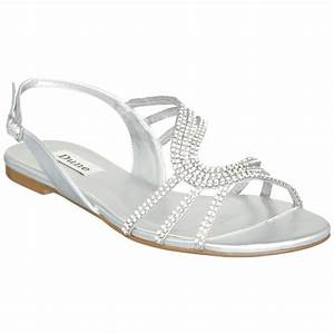 Sandals silver sandals for wedding for Silver dress sandals wedding