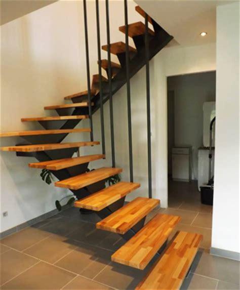 exemples d escaliers bois sur mesure le blog du bois