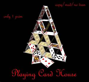 Second Life Marketplace - Playing Card House