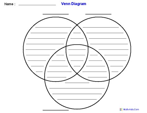 3 Way Venn Diagram Generator