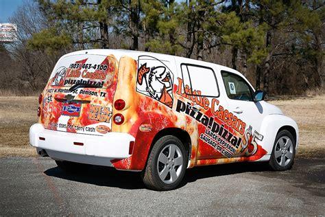 Little Caesars Chevrolet HHR Partial Wrap | Car Wrap City
