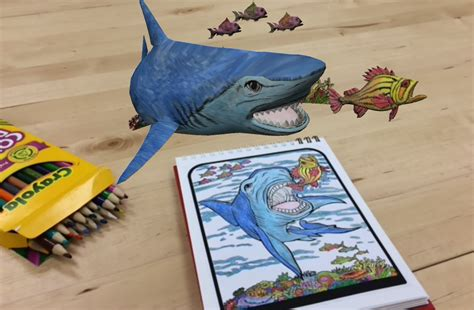 3d Augmented Reality Colouring