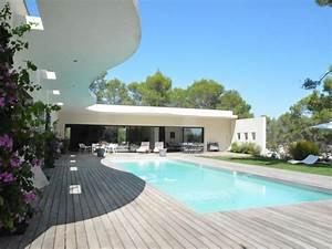 Villa de style ibiza avec piscine pres de montpellier for Location villa montpellier avec piscine