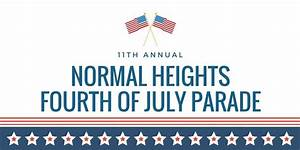 11th Annual Normal Heights 4th of July Parade - I Heart 92116