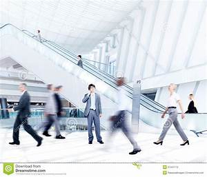 Motion Blurred Business People In The Office Stock ...