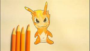 How To Draw Slugterra Burpy (Easy Step By Step) - YouTube