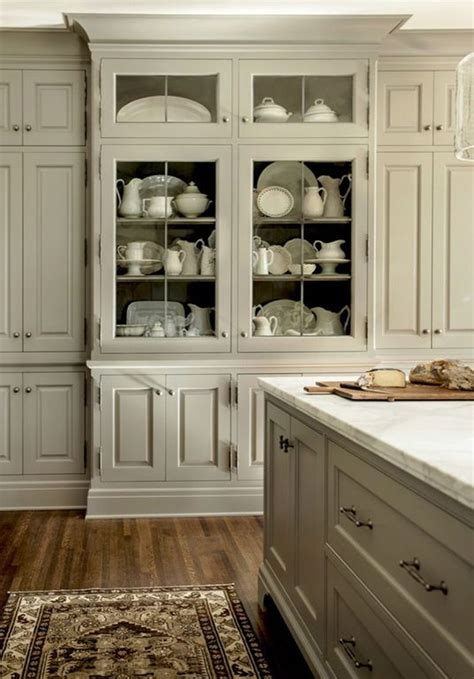 kitchens  glass cabinets