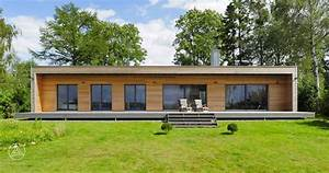 Mini Häuser Preise : moderner bungalow von baufritz design bungalow designhaus bungalow ~ Sanjose-hotels-ca.com Haus und Dekorationen