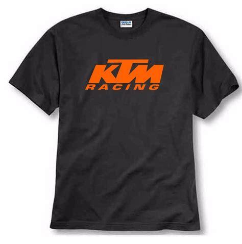 Tshirt Kaos Baju jual tshirt kaos baju ktm racing logo hitam