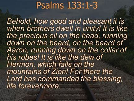Image result for Psalms 133