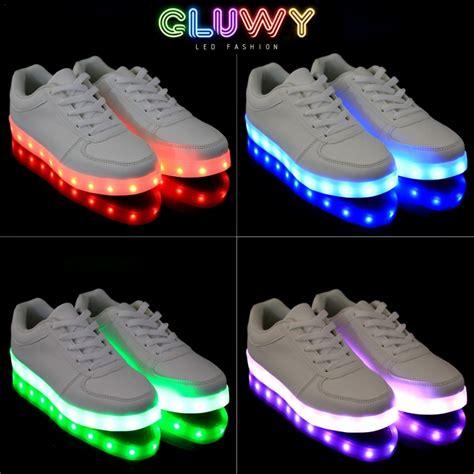 led light shoes led shoe lights black cool mania