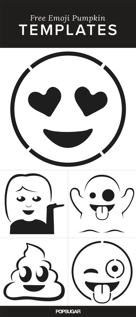 free emoji templates 16 pumpkin carving projects you never thought of the garden glove