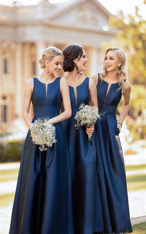 classic  simple bridesmaid dress sorella vita