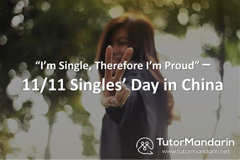 singles day china  novth im single