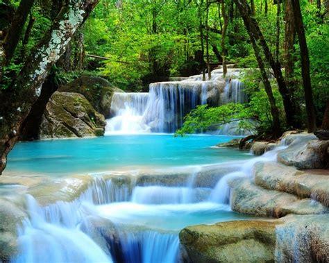 Tropical Waterfall-Desktop Wallpaper Preview | 10wallpaper.com