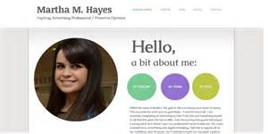 professional resume templates free online stellar exles of creative online portfolio personal websites for students and young
