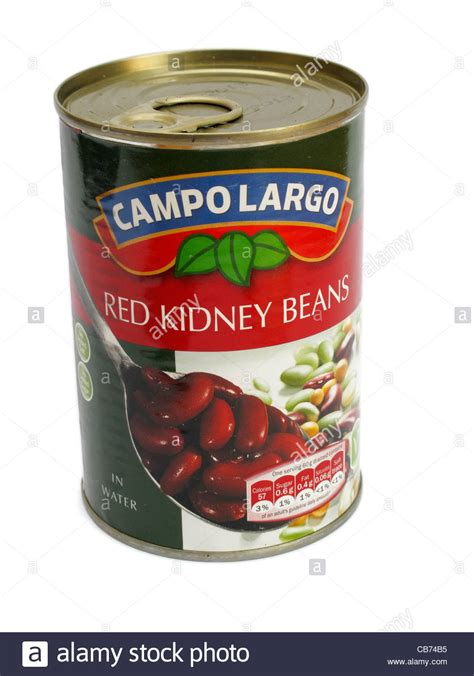 cuisine sold tin of co largo brand kidney beans in water tinned