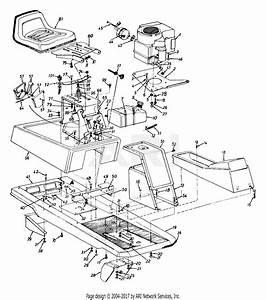 Mtd 133b560b019  1993  Parts Diagram For Seat  Muffler