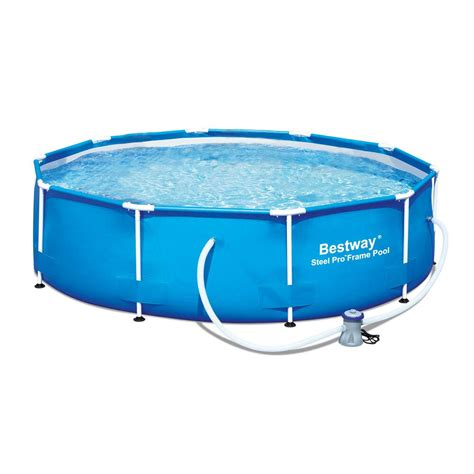frame pool bestway bestway 10 x 30 quot steel pro frame above ground swimming pool set 56407e ebay