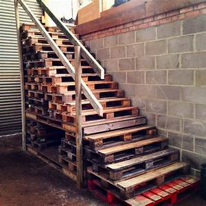 Pallet Wood Stair Designs Pallet Wood Projects