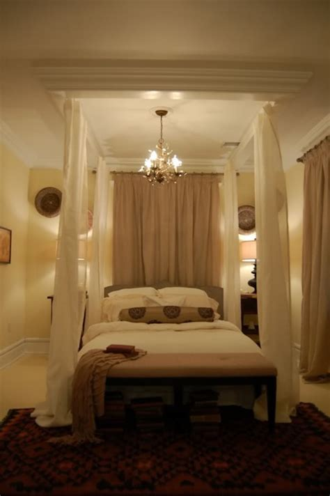 bedroom canopies ceiling bed canopy eclectic bedroom hgtv