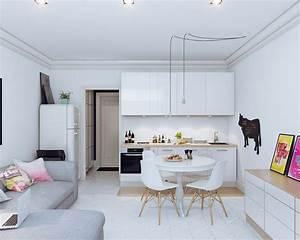 5, Small, Open, Plan, Kitchen, Living, Room, Ideas