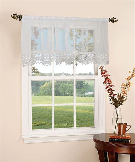 "Daisy Design sheer 60"" X 18"" Window Valance"