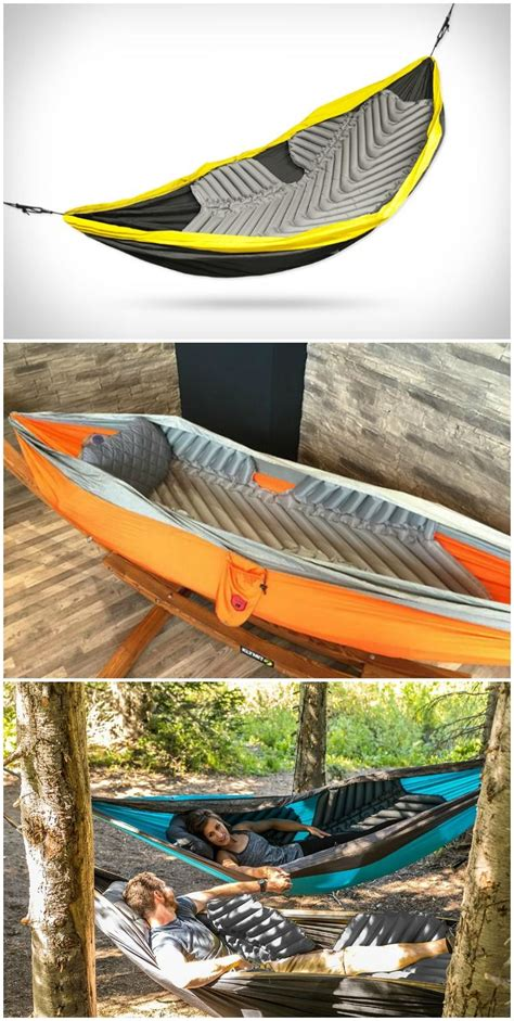 Hammock Cing With A by Klymit S Signature Mapping Technology And