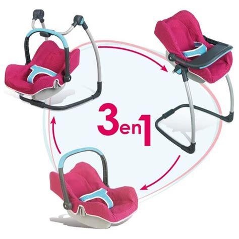 chaise haute smoby smoby chaise haute cosy 3 en 1 bébé confort achat
