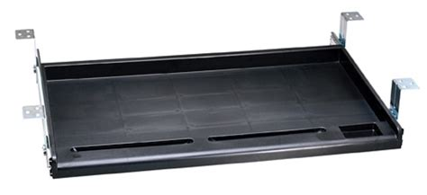 under desk computer tray standard under desk keyboard tray black or white